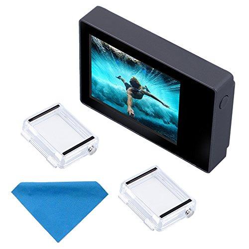 Suptig LCD-Bildschirm 2,0 Zoll LCD BacPac Non-Touchscreen für Gopro Hero 4 3+ 3 2 mit wasserdichter Rückabdeckung 3.0 Lcd Display