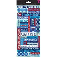 Trends International Cruise Stickers Packaged-Glitter Word