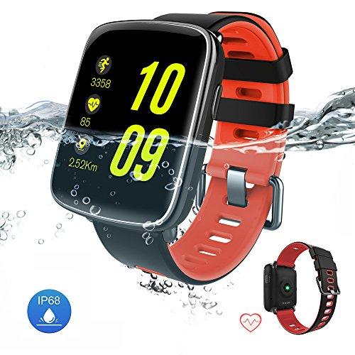 Waterproof Smart Watch Bluetooth Fitness Tracker - Yarrashop Sport Touch Screen Smartwatch...