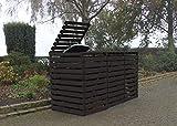Promadino Mülltonnenbox 'Vario V' für 3 Tonnen