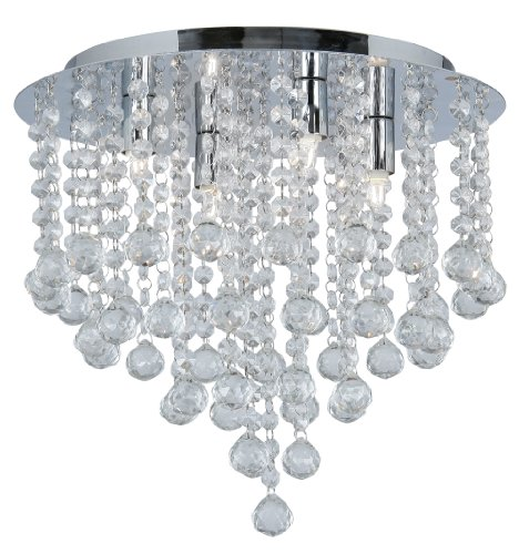 Oaks Lighting Clear Balls Ceiling Fitting