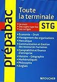 Toute la terminale STG