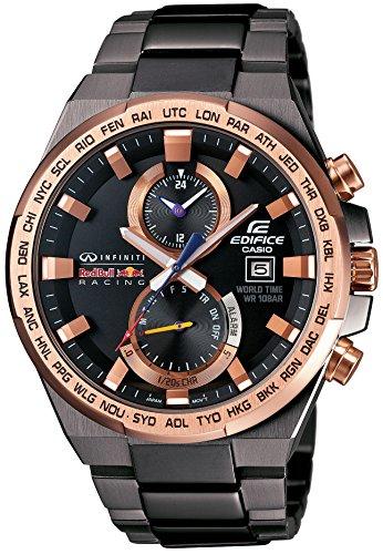 Casio Edifice Infiniti Red Bull Racing EFR-542RBM-1AJR - Reloj de pulsera con correa ajustable