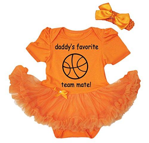 Petitebelle Baby Mädchen (0-24 Monate) Body orange Orange Gr. XL, Orange Favorite Short-sleeve Bodysuit
