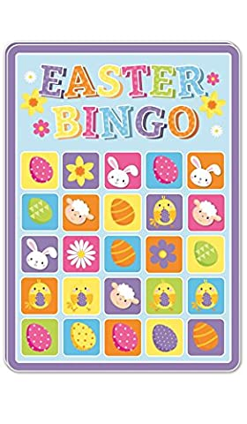 15 Happy Easter Bingo Cards Party Gift Bag Filler Family Kids Children Game Toy