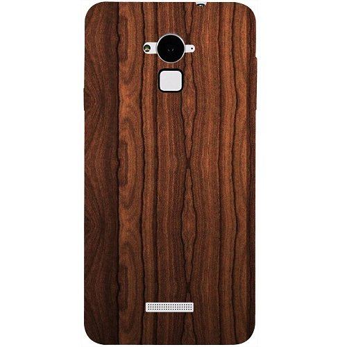 Casotec Wooden Texture Design Hard Back Case Cover for Coolpad Note 3