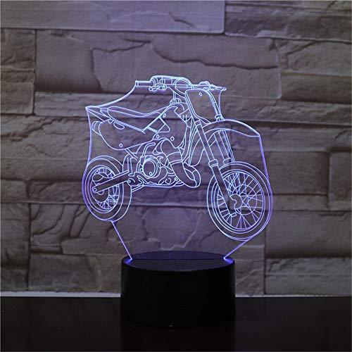 Mountainbike Rennrad 3D-Licht Nachtlicht LED-Lampe Multicolor-Blitz verblassen vulkanische Beleuchtung Urlaub Requisiten Geschenke Männer Schlafzimmer Nachtlicht ## 8 Vision Lighting Sales