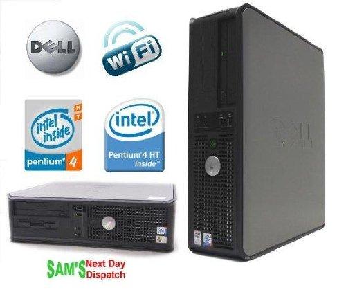 Dell OptiPlex GX620 (2,8 GHz Pentium 4 HT, 160 GB HDD, 2 GB RAM, WiFi-Ready, Windows XP Professional SP3) - Windows Dell Xp-cd