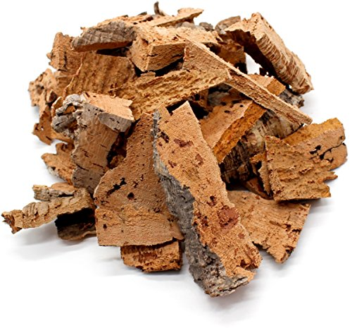 0,5kg schöne, saubere Korkstücke bzw. Korkreste zum Beknabbern, Basteln, Dekorieren oder für Terrarien | Korkrinde -