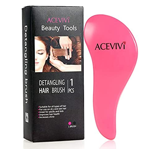 ACEVIVI Original Detangling Hairbrush,Paddle Brush Hair Brush Comb,Tangle Resistant,Frizz-free,Massage scalp,Styling Tool for Adult