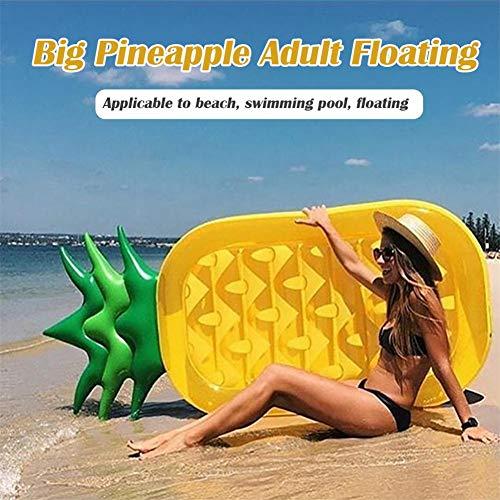 Miju Luft Matratzen Rettungsring Wasser Row Schwimmendes Kissenbett Schwimmring Aufblasbare Ananasform Ingenious