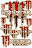 Motocross Auto Logo Aufkleber Satz Bogen Sticker