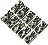 Kuman 10pcs nRF24L01+ 2.4GHz Antenna Wireless Transceiver RF Transceiver Module for Arduino Compatible K19
