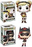 Funko POP! DC Bombshells: Harley Quinn + Batwoman – DC Stylized...