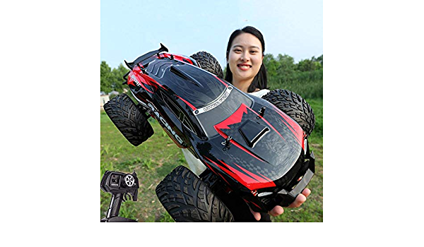 Ycco Scale 1 10 Huge Alloy Climb Semi Truck Trailer Led Lights Over Wild Car Rc Off Road Radio Remote Control 30km H High Speed Car Model Wireless Remote Control Buggy For Kids Boys