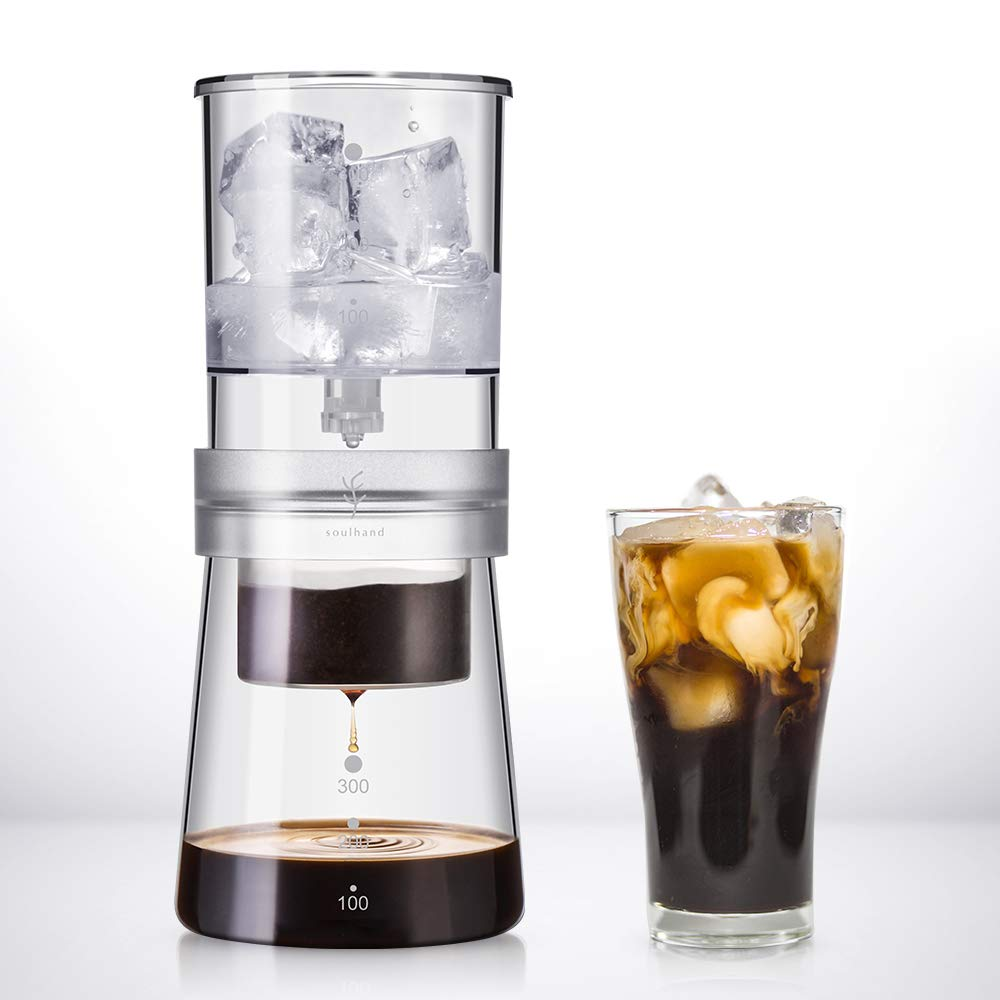 Soulhand-Cold-Drip-Coffee-Machine-Cold-Brew-Dripper-Coffee-Maker-4-Cups400ML-Adjustable-Ice-Drip-Glass-Duth-Cold-Drip-Coffee-Machine-for-Cold-Brew-Coffee