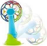 Oball 81529 Bunter Rassel-Ball mit Saugnapf, mehrfarbig