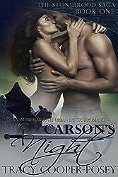 Carson's Night: A Vampire Gargoyle Urban Fantasy Romance (The Stonebrood Saga Book 1) (English Edition)