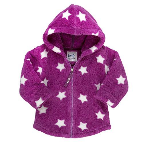 Kite - Starry Hooded Fleece, Giacca da bimba,  manica lunga, rosa(rosa (magenta)), taglia produttore: 6-12 mesi