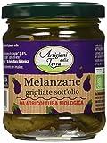 Sottolestelle Melanzane Grigliate in Olio di Girasole - 6 confezioni da 180gr - Totale 1.08 kg