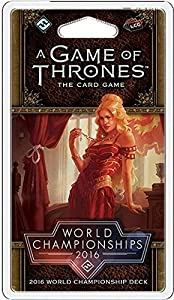 Fantasy Flight Games FFGCHP05 2016 World Championship Joust Deck: A Game of Thrones LCG 2nd Edition, Multicolor