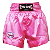 Twins Special Rose Pink Muay Thai Shorts (Size L), Woman Boxing Shorts, Ladies Muay Thai Shorts, K1, Thai boxing, MMA, K-1, Kick Boxing, Boxing Trunks