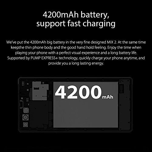 Vernee MIX 2 Smartphone de 6 Pulgadas FHD   2160   1080 Pixels Helio P25 Octa-core 6GB RAM 64GB ROM 13MP   5MP C  maras Traseras Duales   8MP Front Ca