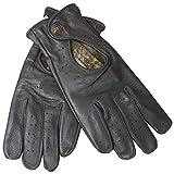 German Wear Driving Autofahrer-Handschuhe Lederhandschuhe, Größe:8=M, Farbe:Himbeere