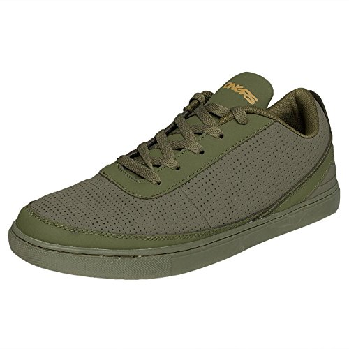 Dangerous DNGRS Homme Chaussures / Baskets Perforated Olive