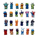 EASTVAPS 24 Pezzi / Set 5 cm Anime Cartoon Slugterra Mini PVC Action Figure Toy