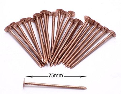 Die Kupfer-baum (Kupfer Baum Stumpf Killer - 30 x Sehr Große 75mm Kupfer Nägel)