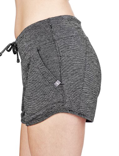 Icebreaker Damen Mira Short Hose Black/Snow
