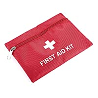 DGdolph 1.4L Pvc First Aid Kit Red Camping Emergency Survival Bag Bandage Drug Red