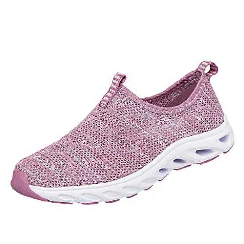 URIBAKY Paar Unisex-Damen Herren Laufschuhe Sneakers, Mesh Casual Sportschuhe Leichte Schuhe,Turnschuhe Leicht,Fitnessschuhe Leicht,Joggingschuhe