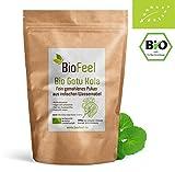BioFeel - Bio Gotu Kola Pulver, 200g - Indischer Wassernabel