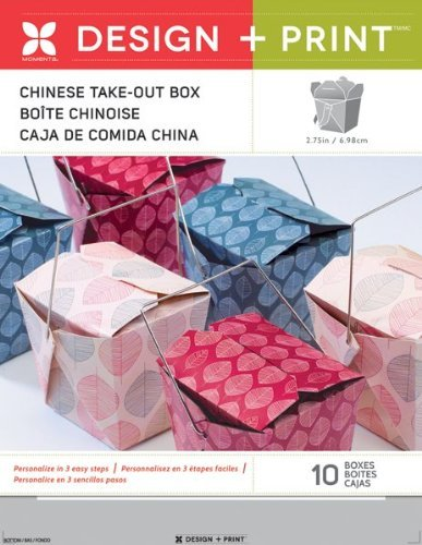Momenta Design and Print Party, Take Out Box by Momenta
