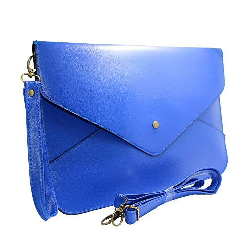 imayson-women-envelope-clutch-case-purse-shoulder-bag-handbag-tote-bagblue