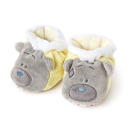 Bébé Filles garçons Jaune Me to You Tatty Teddy Bear Chaussons Bébé – 3–6 mois