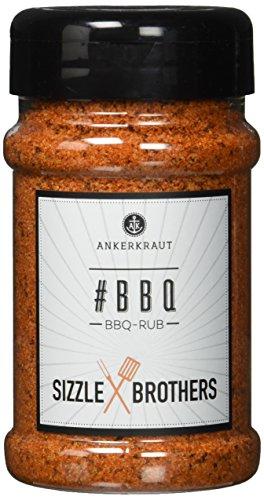 Ankerkraut #BBQ, 220g im Streuer, BBQ-Rub Grillmarinade, Allrounder Rub mit etwas Süße