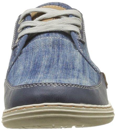 Mustang 4076304 Herren Walkingschuhe Blau - Bleu (841 Jeans Blau)