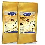 2 x 12,5 kg Lyra Pet Dog Adult Lamm & Reis Premiumfutter für ausgewachsene Hunde