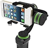 LanParte HHG-01 3-Axis Handheld Gimbal Stabilizer for smartphones GoPro iPhone 6S PLUS Video Cameras w/ GoPro Clamp Included