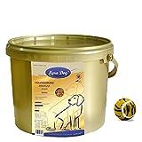 1 kg Lyra Dog Senior im Eimer Premium Hundefutter für ältere Hunde + Tennisball
