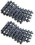 Lescars Anfahrthilfe: 2er-Set Anfahrhilfe mit Tragetasche, 80 x 22 cm (Anfahrtshilfen)