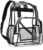 AmazonBasics Zaino scolastico - Transparente