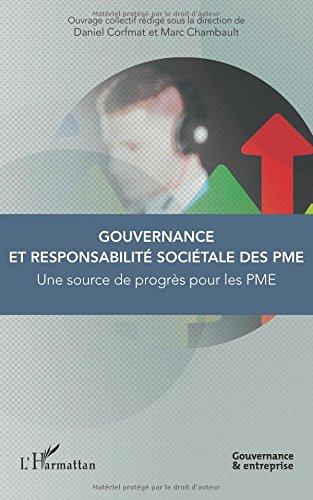 Gouvernance et responsabilité sociétale des PME par Daniel Corfmat