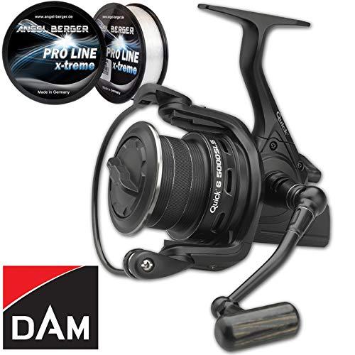 DAM Quick 6 SLS FD Karpfenrolle Angelrolle alle Modelle (7000)