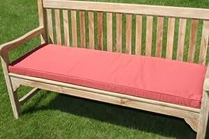 mobilier de jardin coussin pour banc de jardin 3 places terracotta jardin. Black Bedroom Furniture Sets. Home Design Ideas