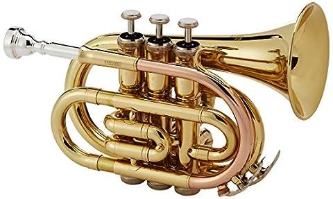 Roy Benson Bb Taschen-Trompete MOD.PT-101 lackiert, inkl.