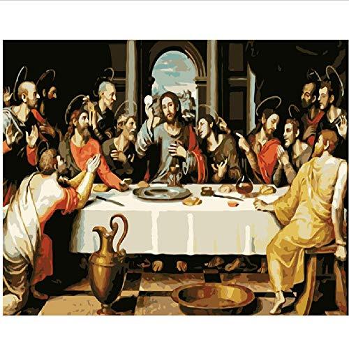 CCEEBDTO Klassisches Puzzle 500 Teile Erwachsene Puzzle Holzpuzzle 3D Puzzle EIN Bisschen Jesus DIY Pädagogisches Puzzle Weihnachten Wohnkultur Geschenk 52X38Cm (500 Teile Jesus-puzzle)
